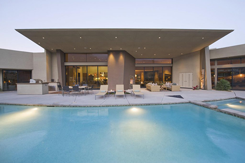 nice looking huge pool